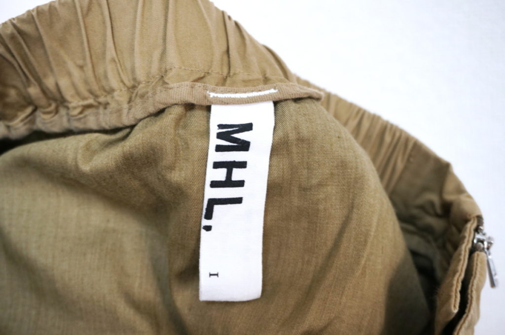 コットン ツイル タック チノ スカートの買取実績画像
