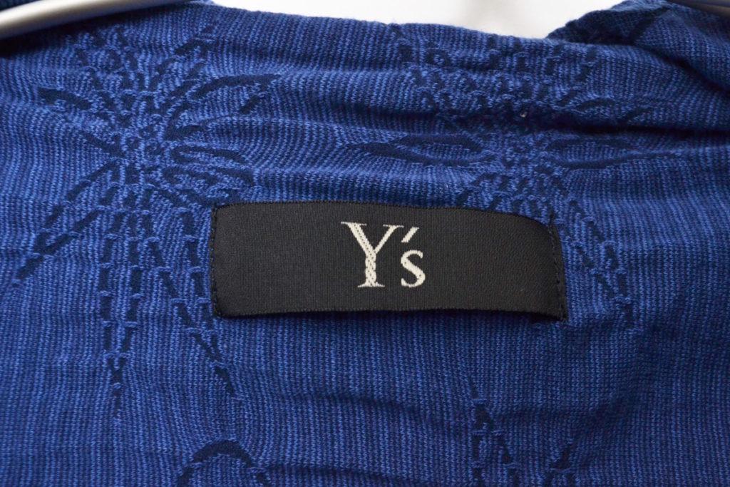 2010SS/花刺繍 ショールカラージャケットの買取実績画像