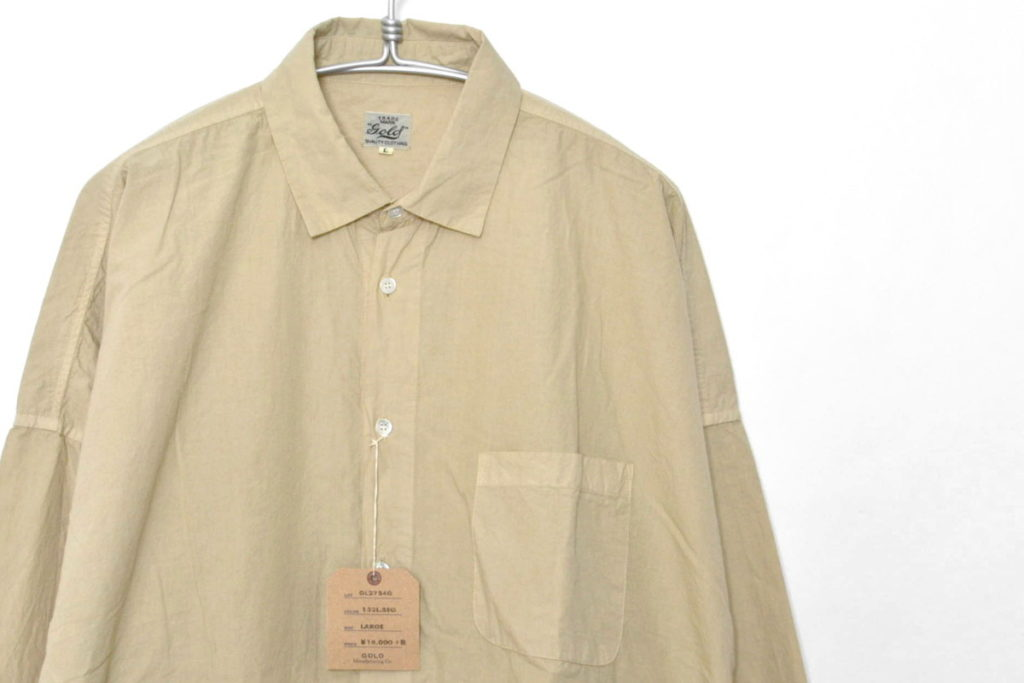 DROP SHOULDER SHIRT ドロップショルダーシャツの買取実績画像