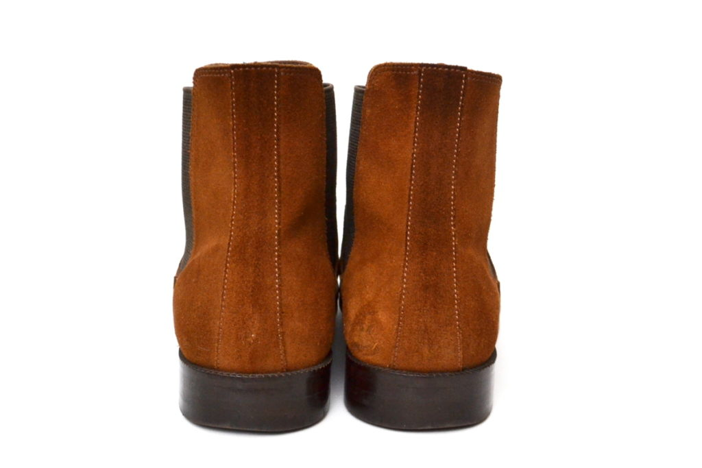 2017AW/ England Dressy Suede Side Gore boots スウェード サイドゴアブーツの買取実績画像