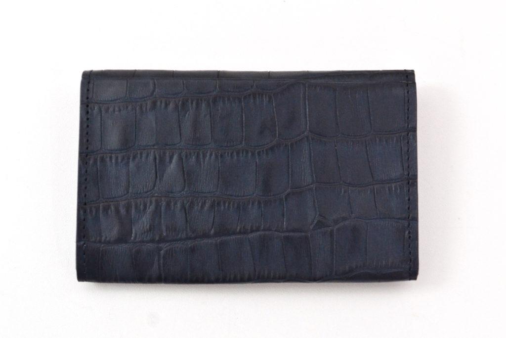 CARD CASE CROCOSTAMP クロコ型押し カードケースの買取実績画像