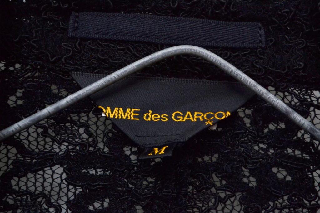 AD2011 12SS/ 総レース フラワーニット ジャケットの買取実績画像