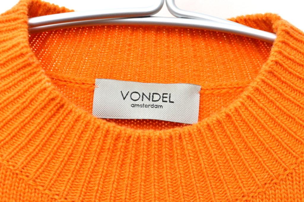 モックネック ウール ニットセーターの買取実績画像