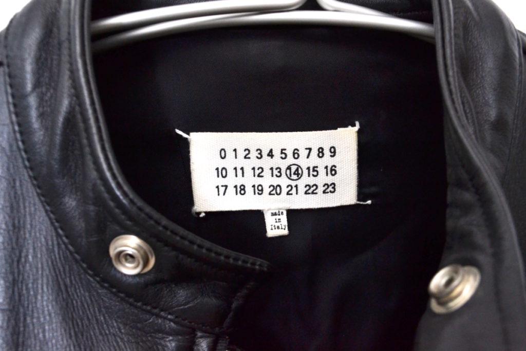 2015ss/八の字 レザーライダースジャケットの買取実績画像