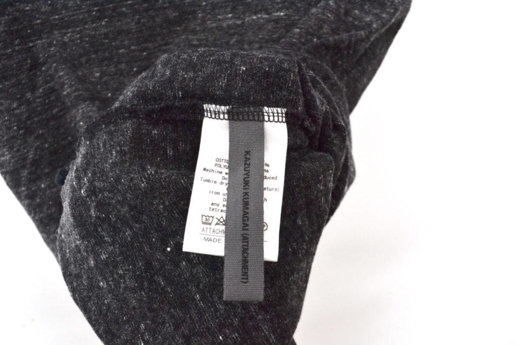 2018SS/コットン絣ストレッチ 天竺クルーネック 半袖Tシャツの買取実績画像