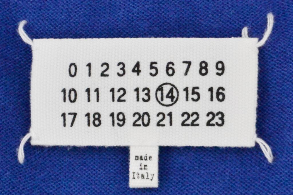 レザーエルボーパッチ コットンウール Vネックニット セーターの買取実績画像