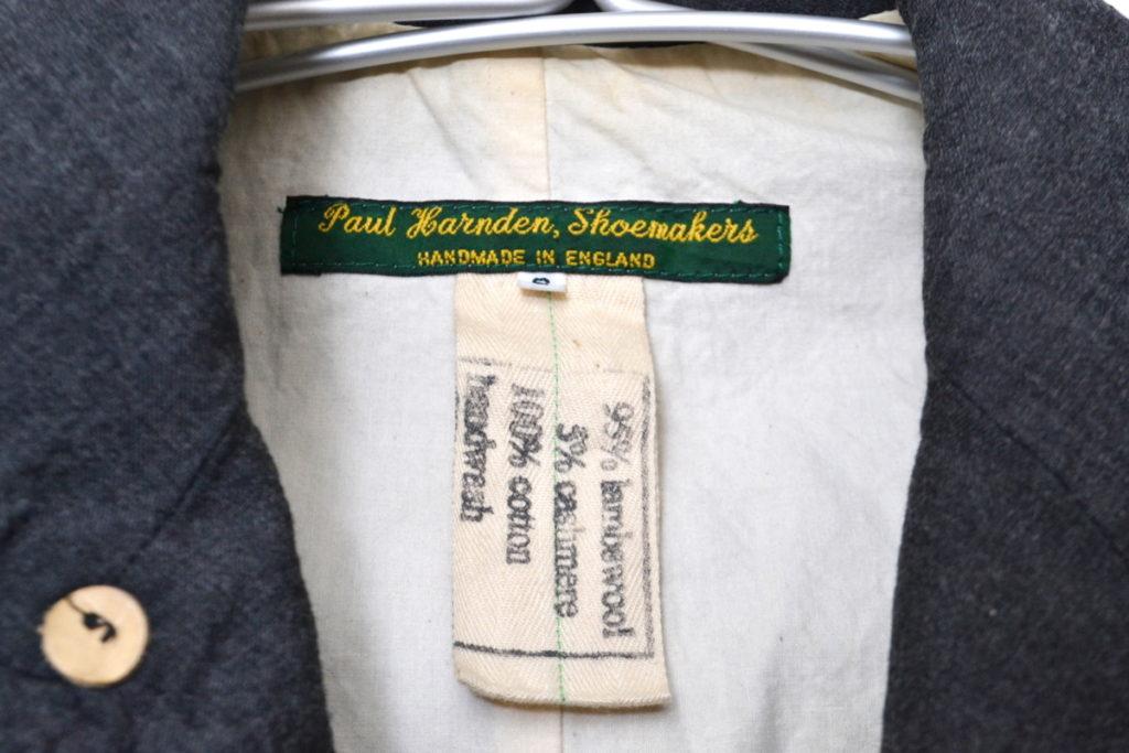 ウール・カシミヤ ブレザー ジャケットの買取実績画像