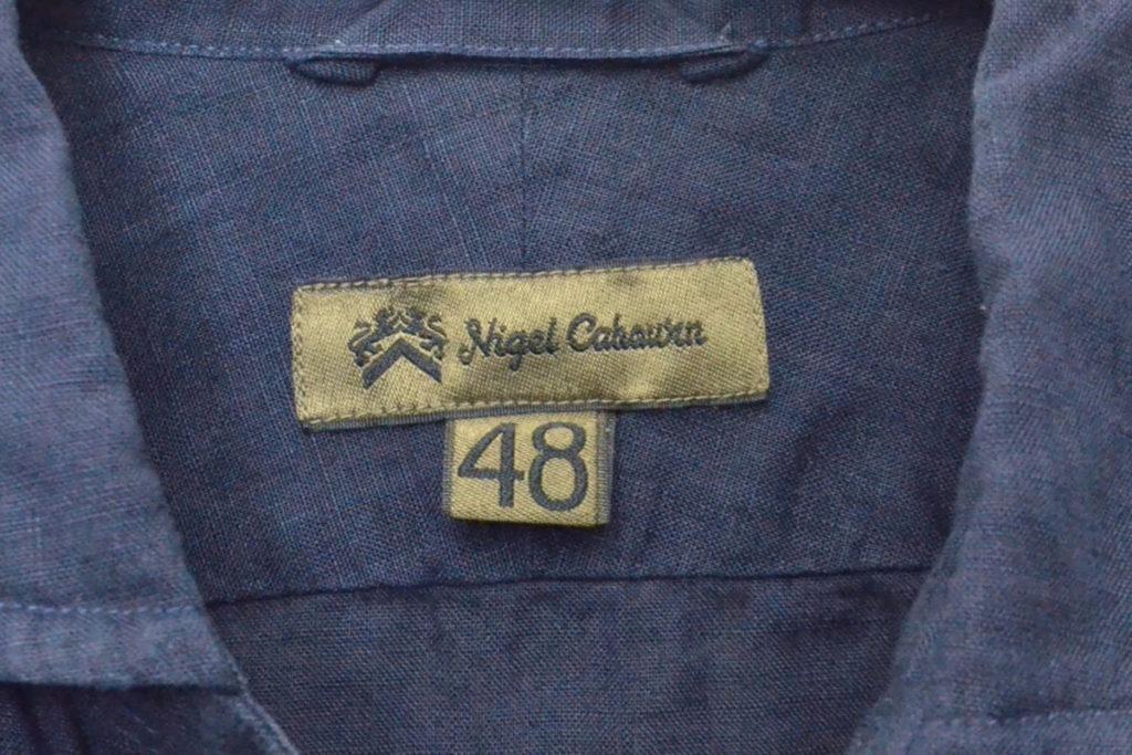 BRITISH OFFICER'S SHIRT LINEN ブリティッシュオフィサーズシャツ リネンの買取実績画像
