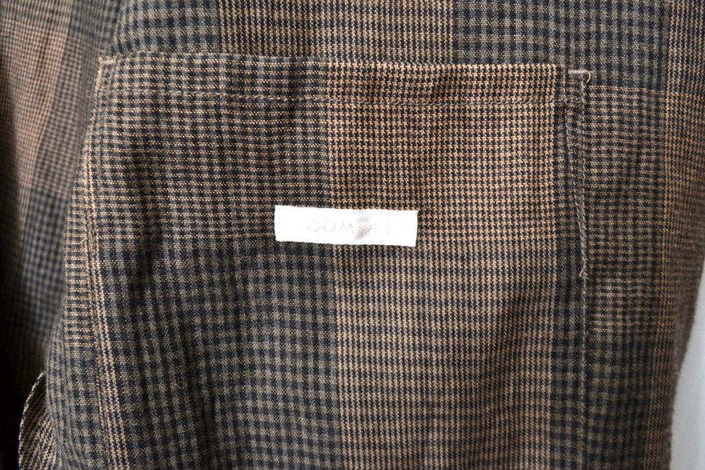 ウールラミー チェック ジャケットの買取実績画像