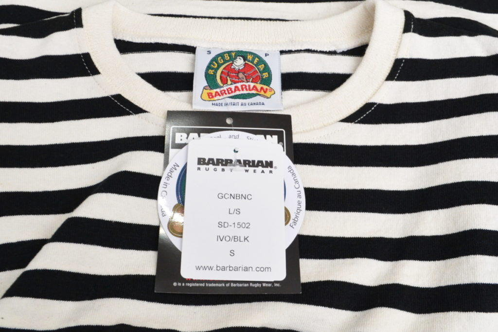 8oz ボーダーカットソー ラガーシャツの買取実績画像