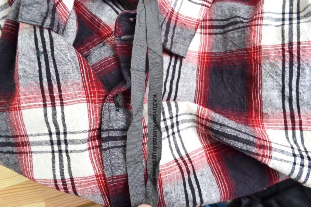 チェックシワ加工 L/Sシャツの買取実績画像
