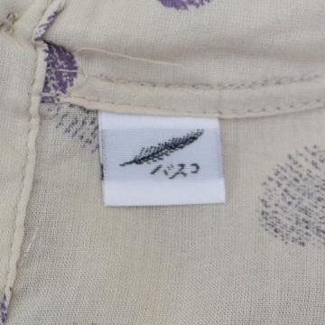 擦れドット柄 コットン 丸襟 ワイドブラウスの買取実績画像