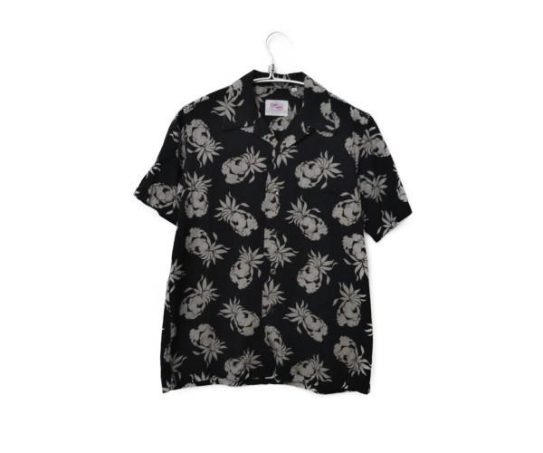 2014SS/ OPEN COLLAR SHIRT PINEAPPLE パイナップル アロハ 半袖シャツ