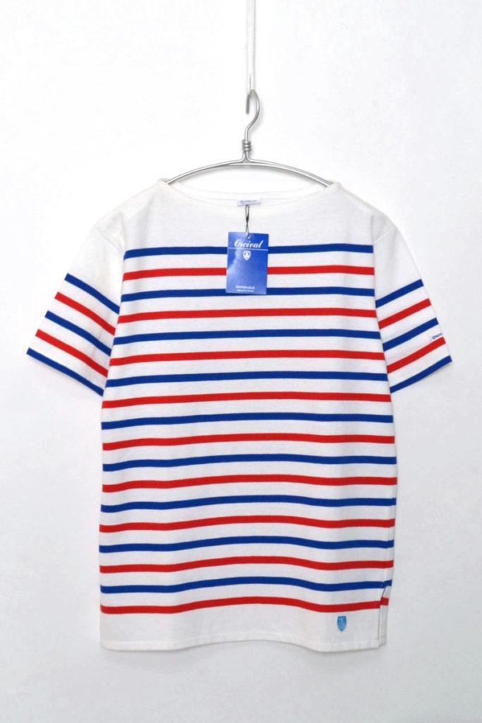 French Sailor S/S T-Shirt ラッセル フレンチセーラー ボートネックTシャツ 半袖