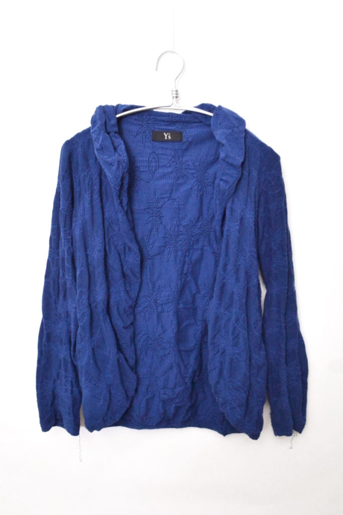 2010SS/花刺繍 ショールカラージャケット