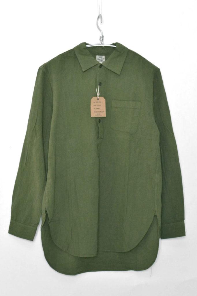 CHAMBRAY REGULAR COLLAR PULLOVERSHIRT シャンブレー プルオーバーシャツ