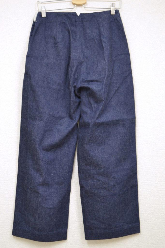 2015SS/marine pants(denim) サイドボタン マリンパンツ ワイド デニムの買取実績画像