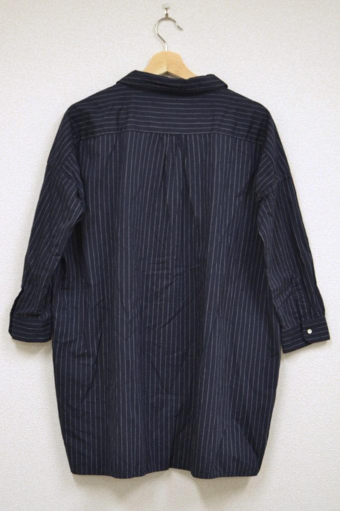BARBER SHIRT ストライプコットン バーバーシャツの買取実績画像