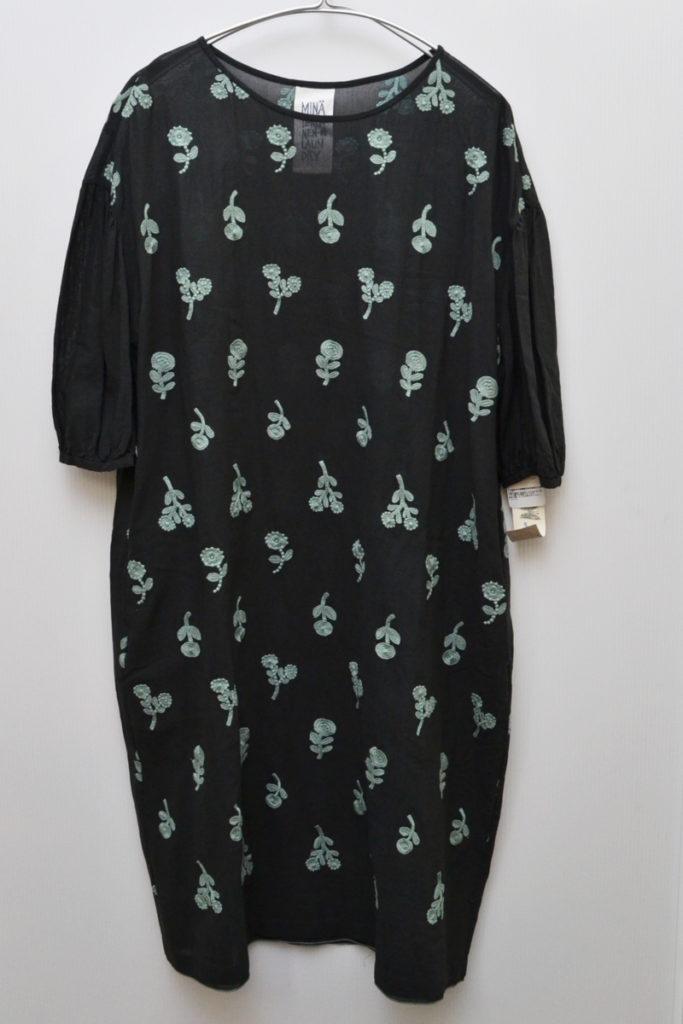 bonheur ボヌール コットン刺繍 ドレス ワンピース