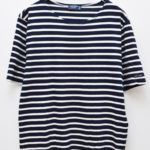 L'ATELIER/PIRIAC ピリアック 半袖ボーダーTシャツ