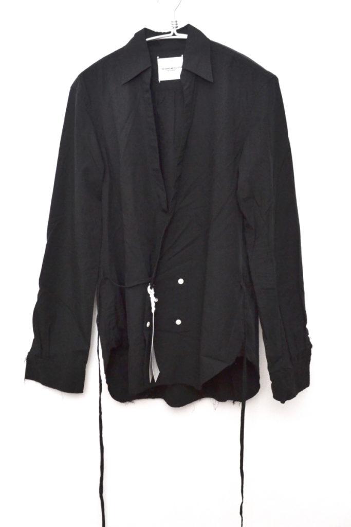 17SS/Crossover Front Shirt クロスオーバーフロント シャツ