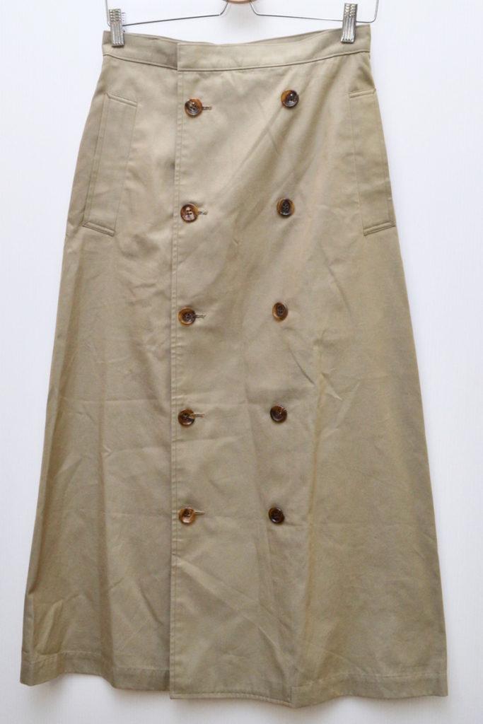 AD1999 90sヴィンテージ/ロングトレンチスカート