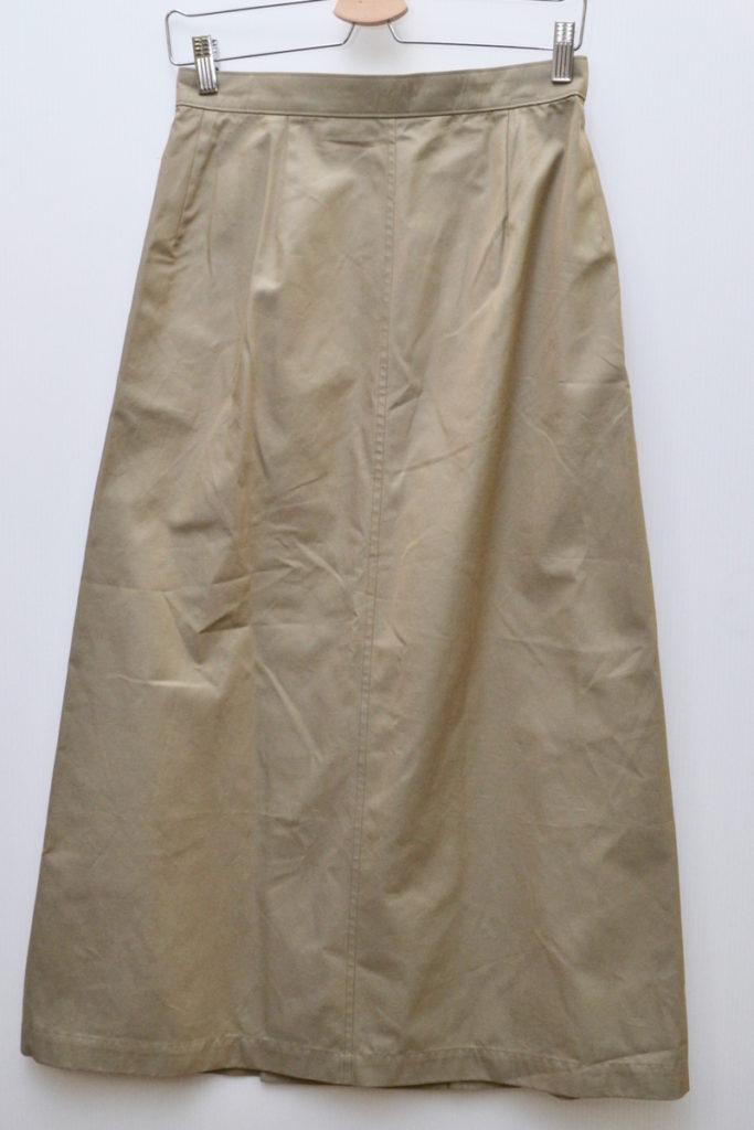 AD1999 90sヴィンテージ/ロングトレンチスカートの買取実績画像