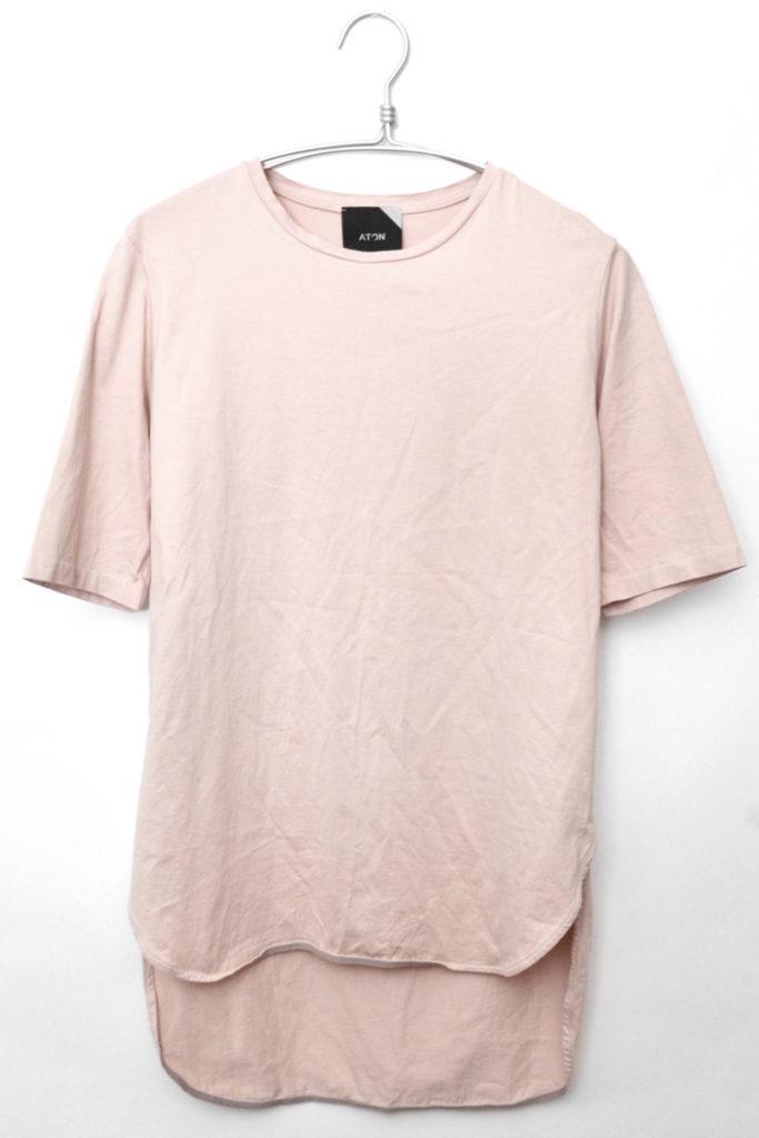 SUVIN60/2 /ラウンドヘムTシャツ