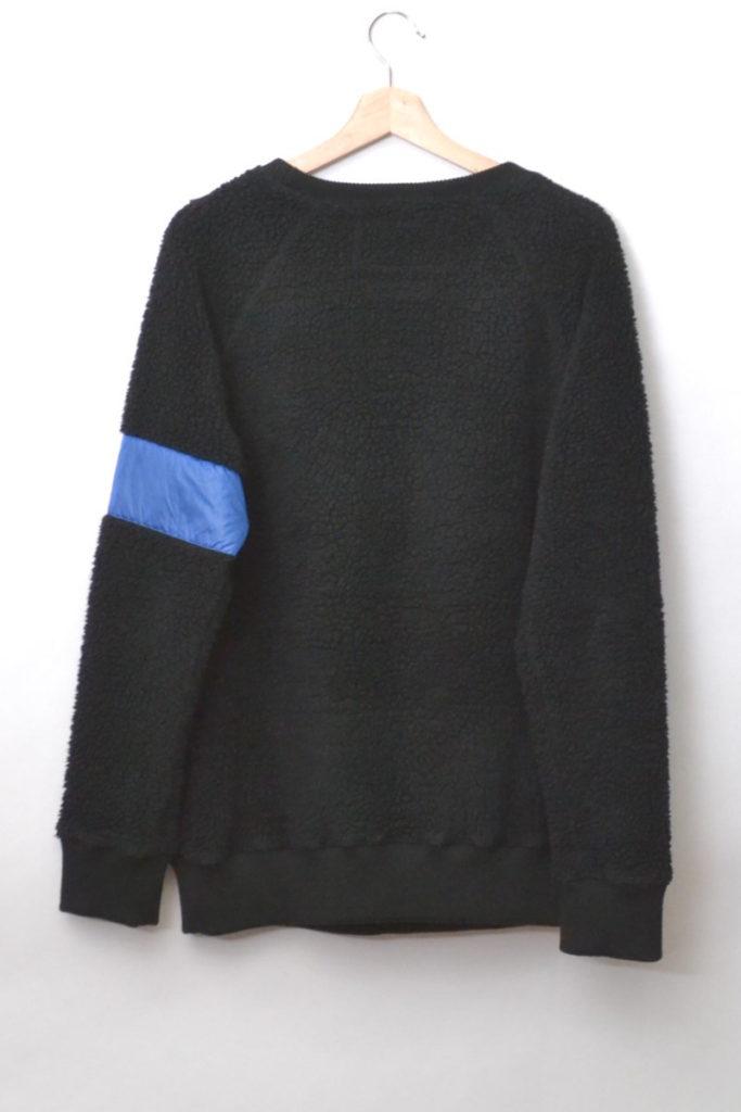 RAMSEY 19c/ ナイロンテープ切替 ボアニット クルーネックセーターの買取実績画像