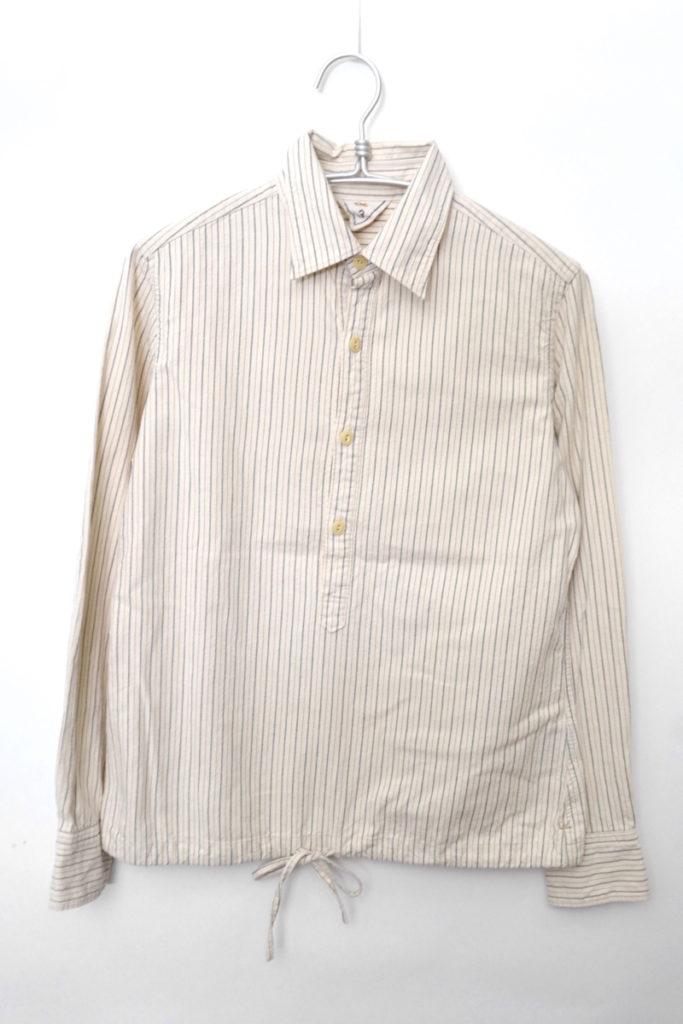 裾コード プルオーバーシャツ
