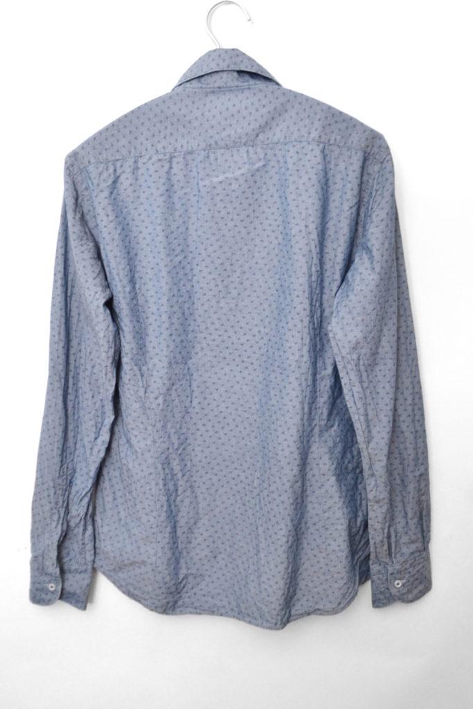 ワイドカラー 総柄 シャンブレーシャツの買取実績画像