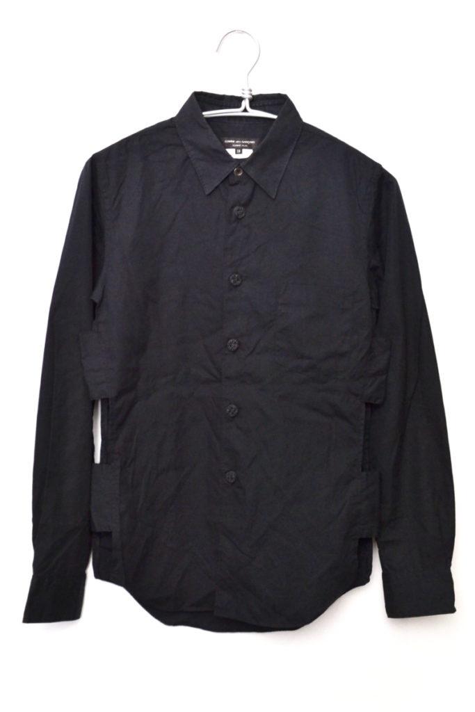 AD2012 13SS/ サイドカット コットンブロードシャツ