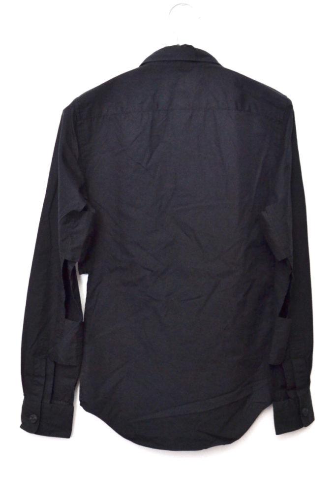 AD2012 13SS/ サイドカット コットンブロードシャツの買取実績画像