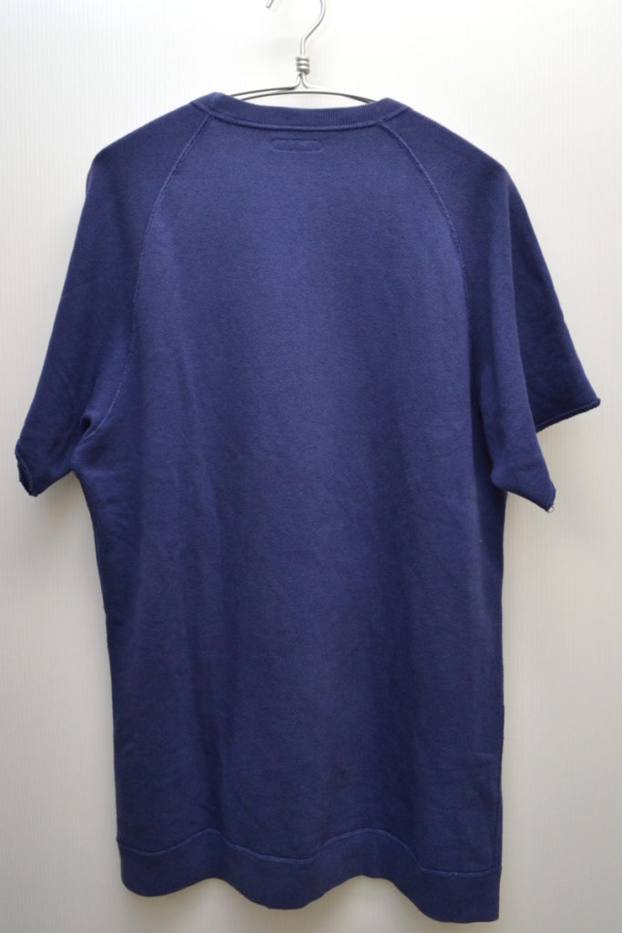 前V ユーズド加工 半袖スウェットシャツの買取実績画像
