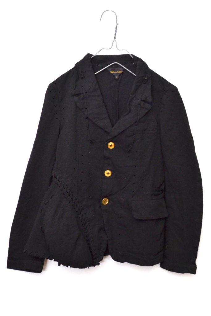 AD2004 05SS/ ポリエステル縮絨 こぶジャケット