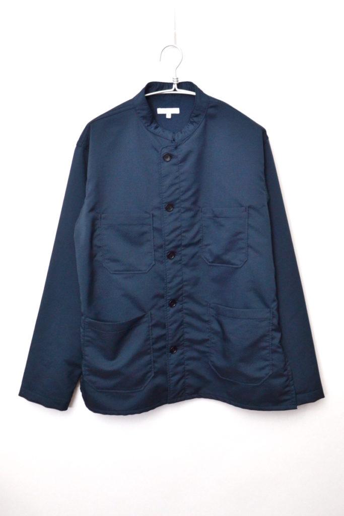 DAYTON SHIRT POLY デイトンシャツ スタンドカラージャケット
