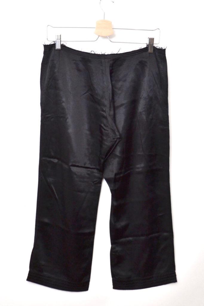 レーヨン サテン ワイド クロップド パンツの買取実績画像