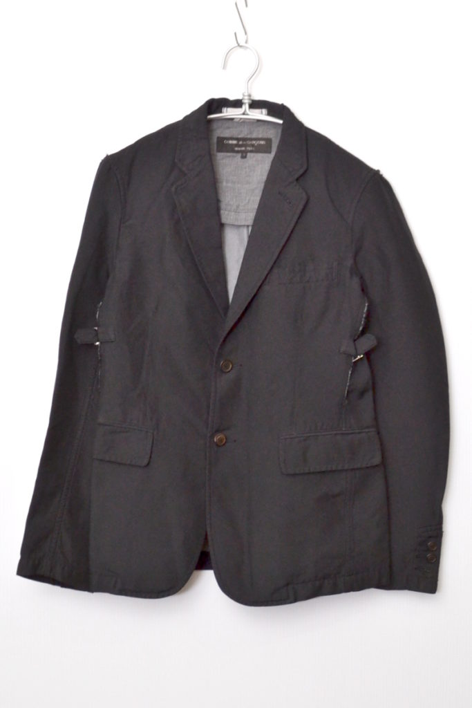 AD2013 14SS/ ポリエステル縮絨 ボンテージジャケット