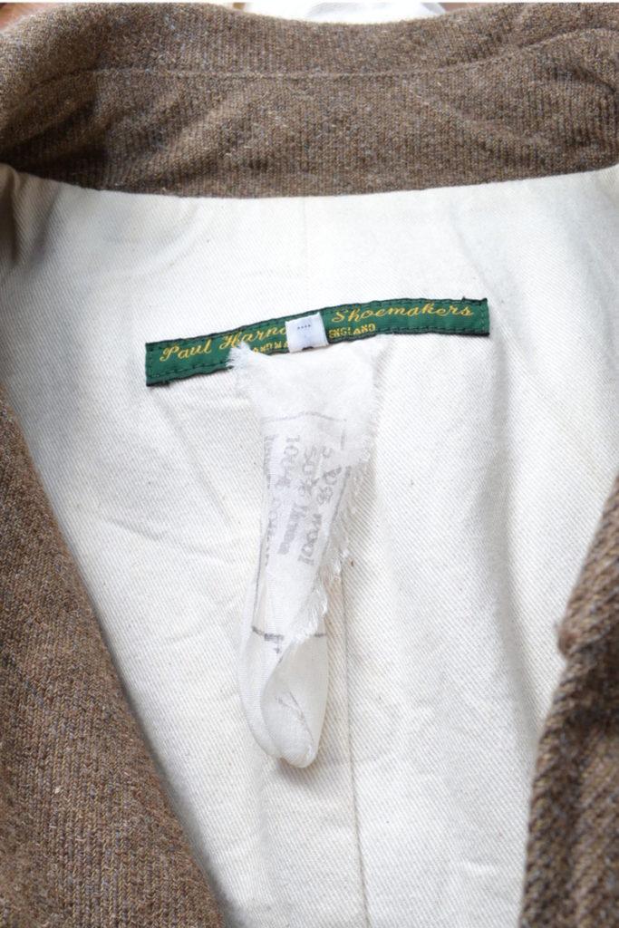 MAC COAT ウール・リネン ツイード マックコートの買取実績画像
