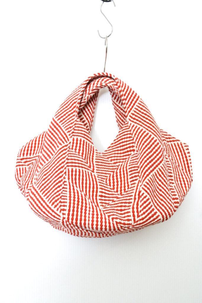 編み込み テープバッグ トートバッグ