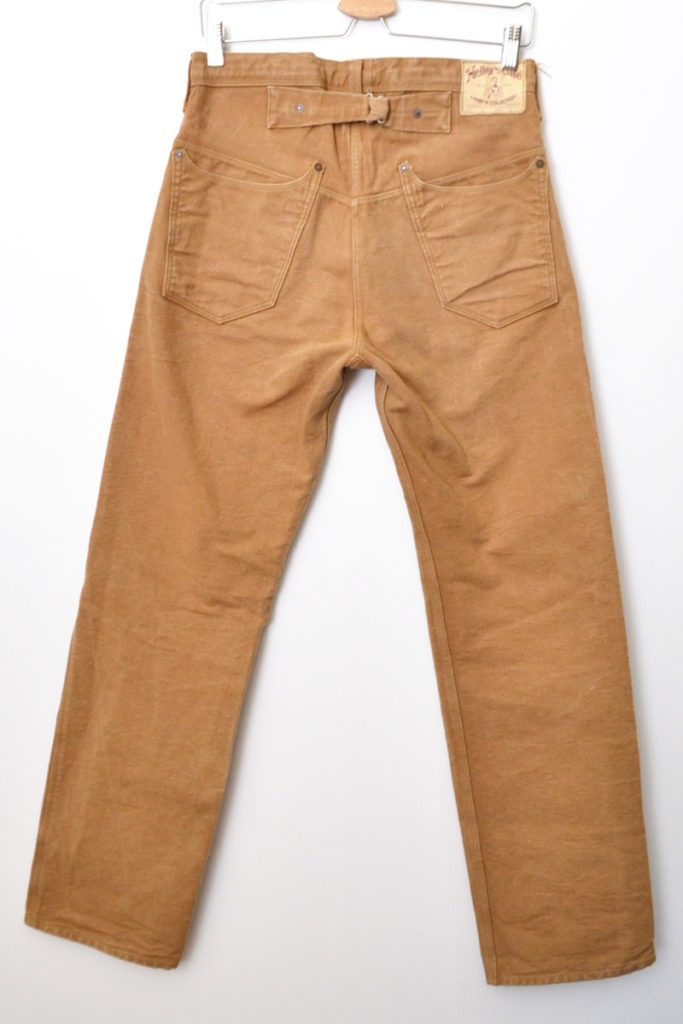 LARRY'S COLLECTION/Nonpareil Waist Overall ブラウンダック ワークパンツの買取実績画像