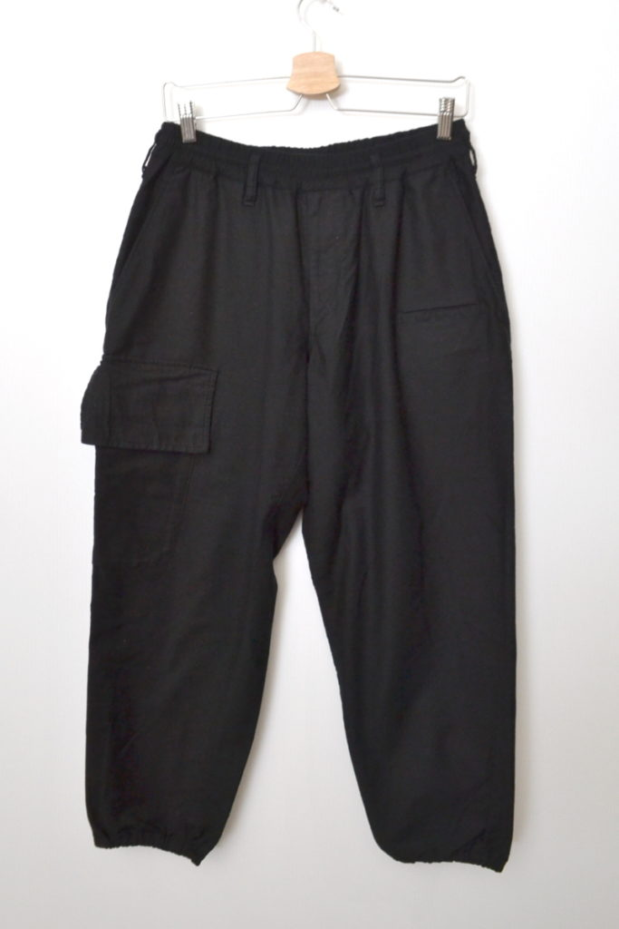 2019SS/ drop crotch trousers ドロップクラッチトラウザーズ イージーパンツ