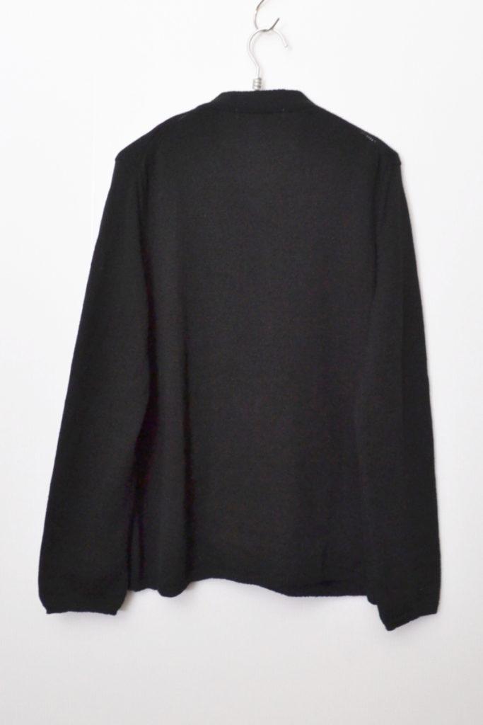18AW/fully fashioned knit wide hem gauge 14 ワイドヘムカーディガンの買取実績画像