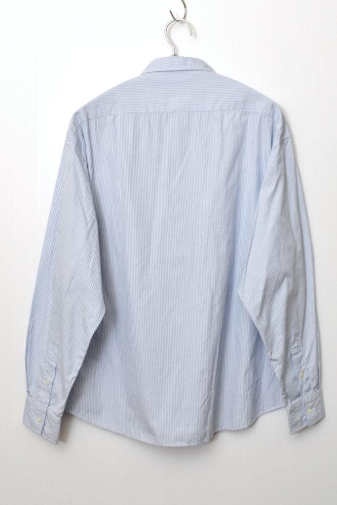ROLL UP STRIPE SHIRT ブルーストライプ ロールアップシャツの買取実績画像