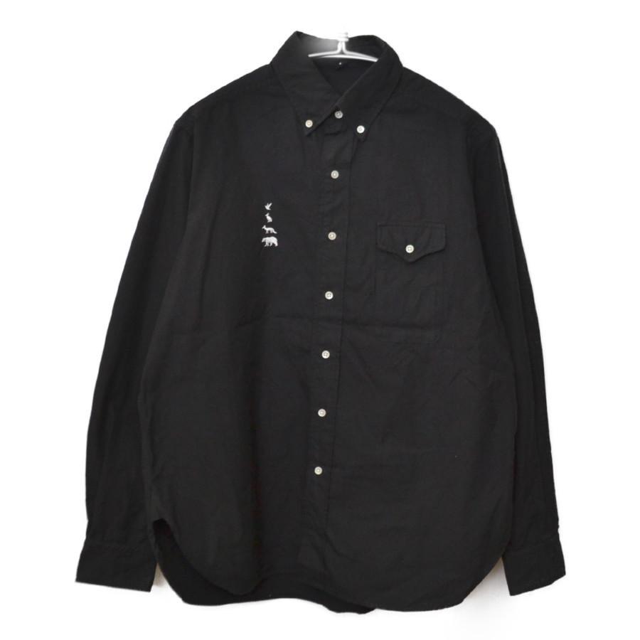 2015AW/MTR-1883 動物 刺繍 B.D Shirt 長袖 シャツ