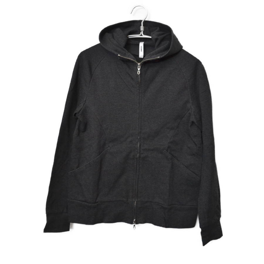 2019SS/60/1 Double Face ZIPUP Hoodie/ジップアップ フーディー
