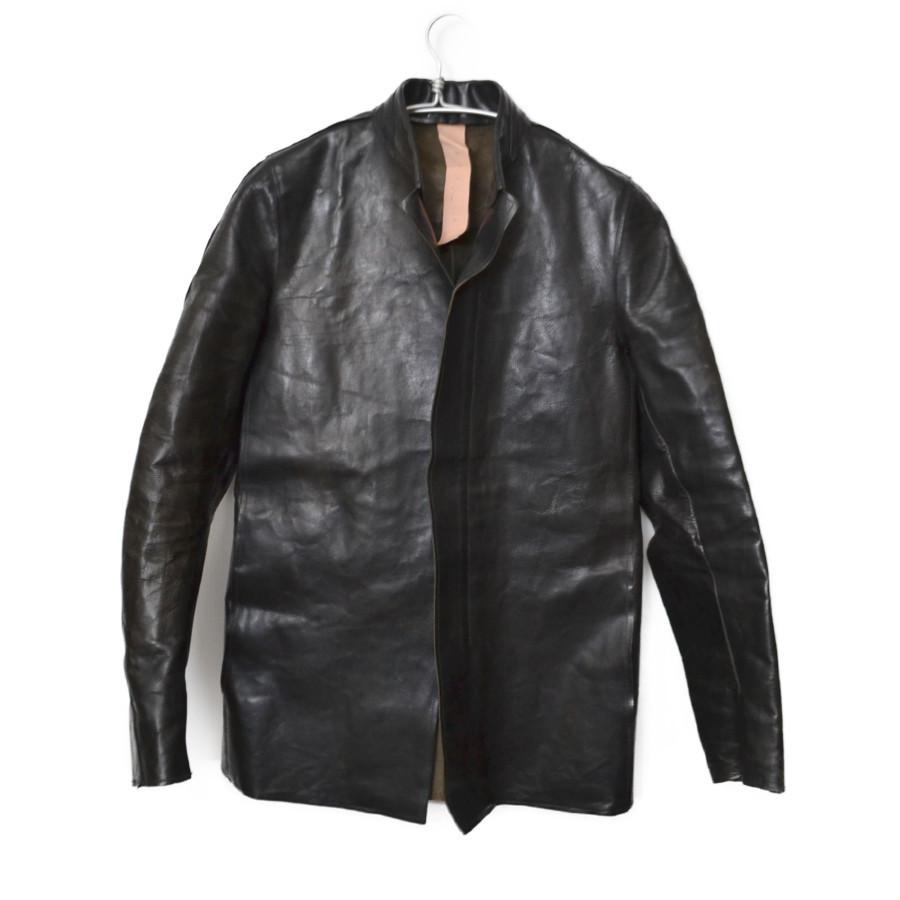 GUIDI カーフレザー レザーシャツ ジャケット