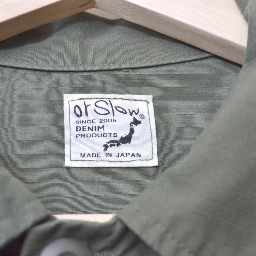 × strato ◆ 2017SS/ 別注US Army Jacket Ripstop コットン ミリタリージャケットの買取実績画像