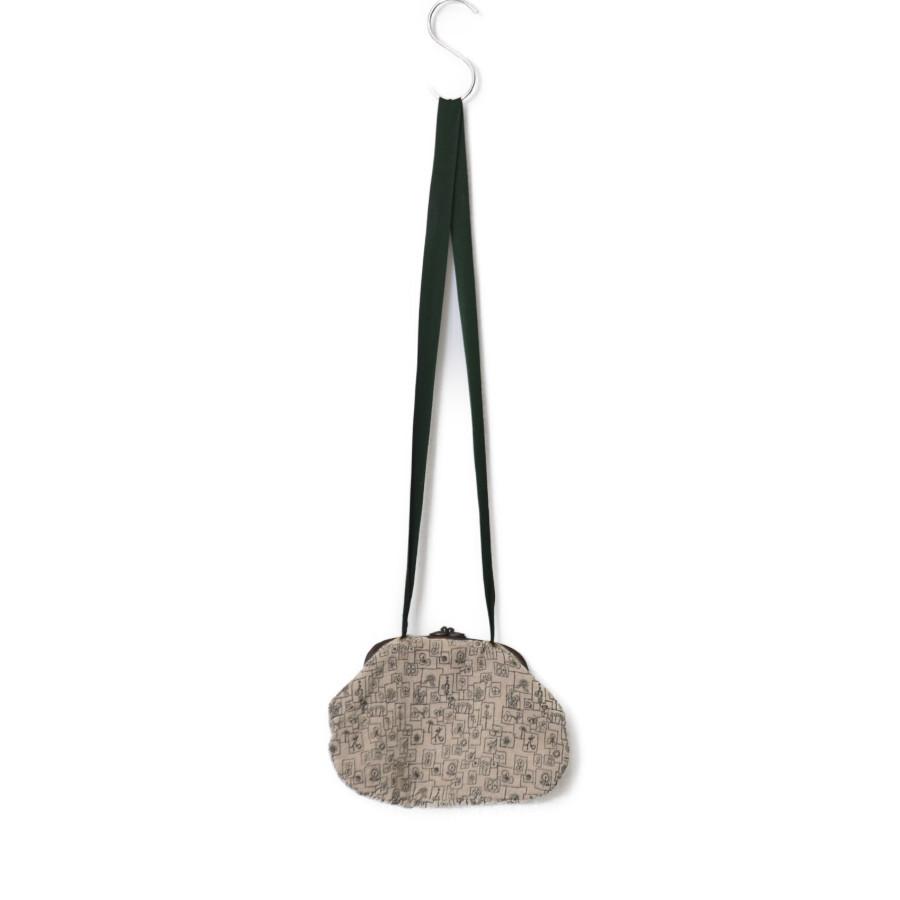 花柄 刺繍 がま口 ポシェット ショルダー バッグの買取実績画像