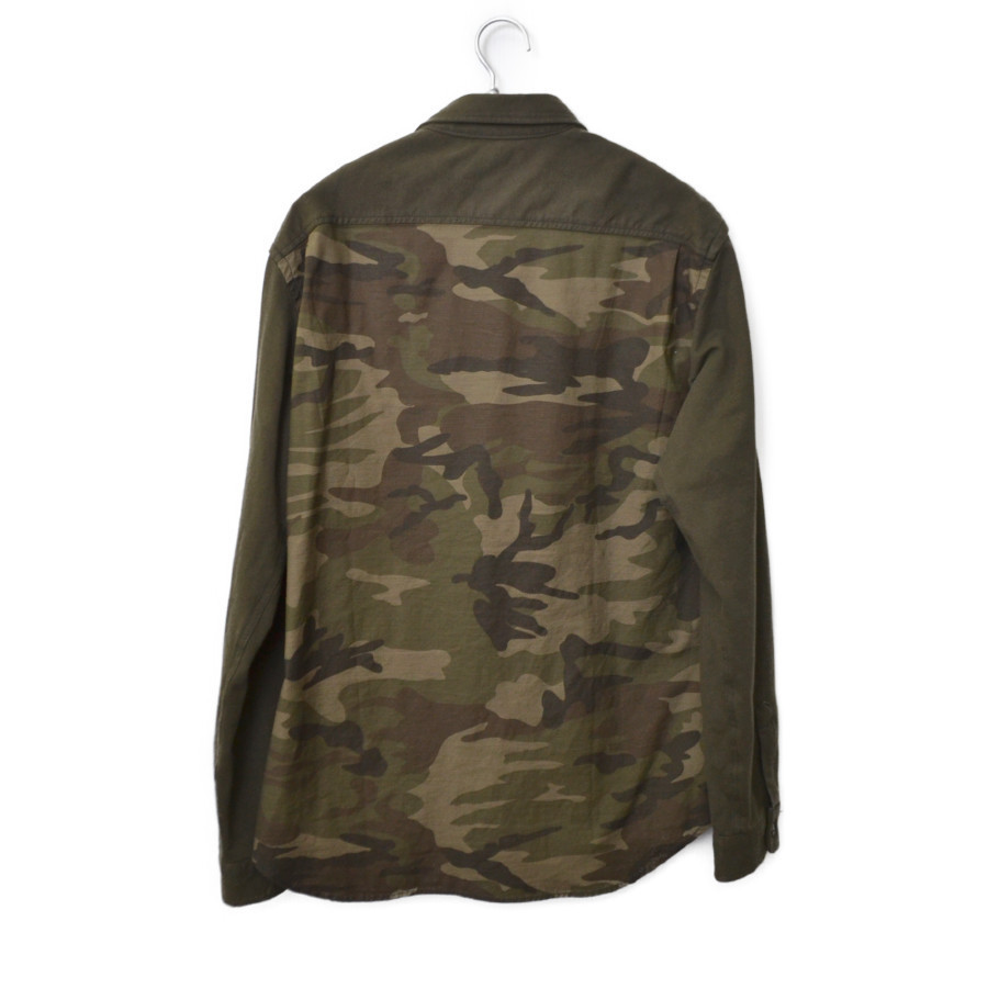 L/S MATERIAL COMBINATION ARMY SHIRT マテリアル コンビネーション アーミー シャツの買取実績画像